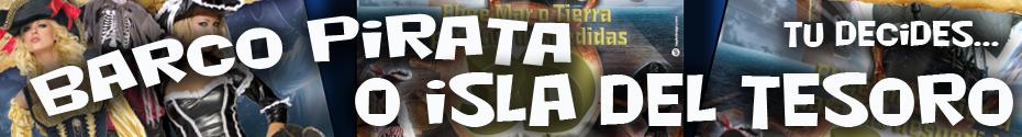 Barco Pirata o Isla del Tesoro
