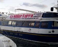 despedidas en barco cambrils salou