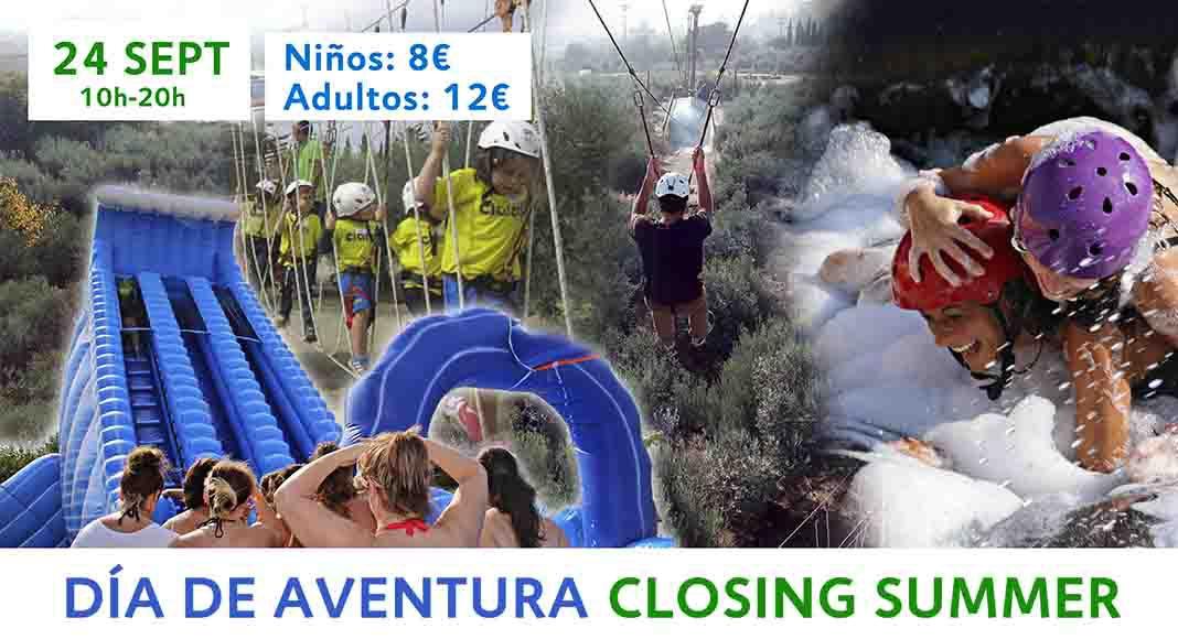 Día de Aventura Closing Summer
