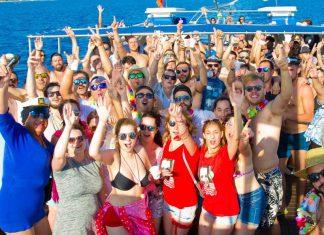 catamaran party salou