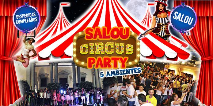 Cena Temática Circus Party + Discoteca Salou Despedidas Tarragona